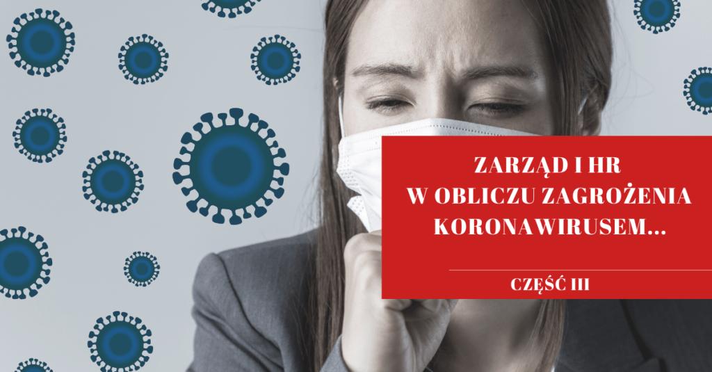 Zarząd spółki a koronawirus - maseczka na twarzy